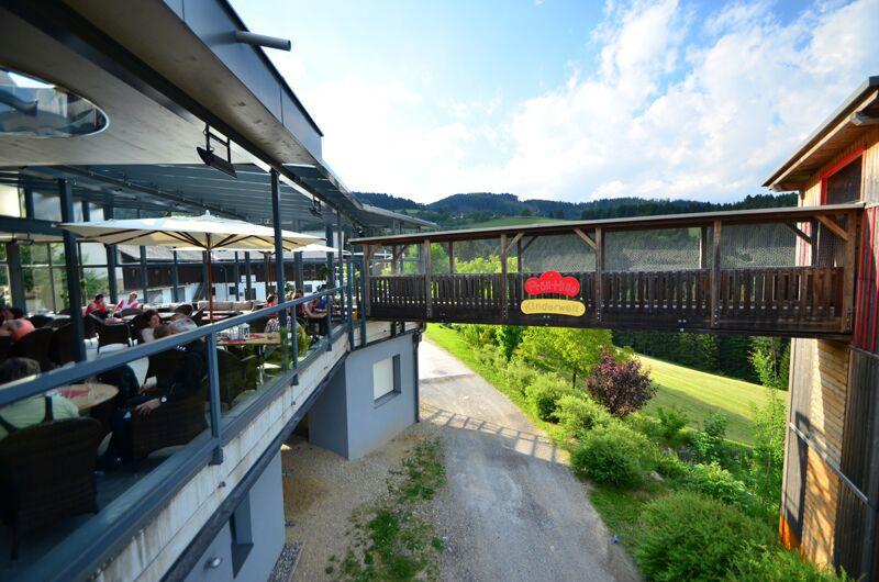 Unsere Kinder Spielpark Gasthof Knoll Prollhofer Almenland Steiermark