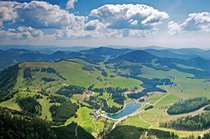 almenland, almenland steiermark almenland fladnitz teichalm, almenland rechberg steiermark, almenland graz umgebung steiermark-Pröllhofer Blick Teichalmsee