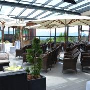 Gasthof Knoll Proellhofer - Hochzeitm, Heiraten, Hochzeitslocation, Weiz, Graz, Umgebung, Almenland - gedeckter Trauung Terrasse