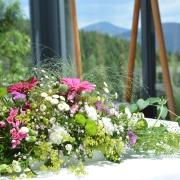 Gasthof Knoll Proellhofer - Hochzeitm, Heiraten, Hochzeitslocation, Weiz, Graz, Umgebung, Almenland - gedeckter Trauung Terrasse3